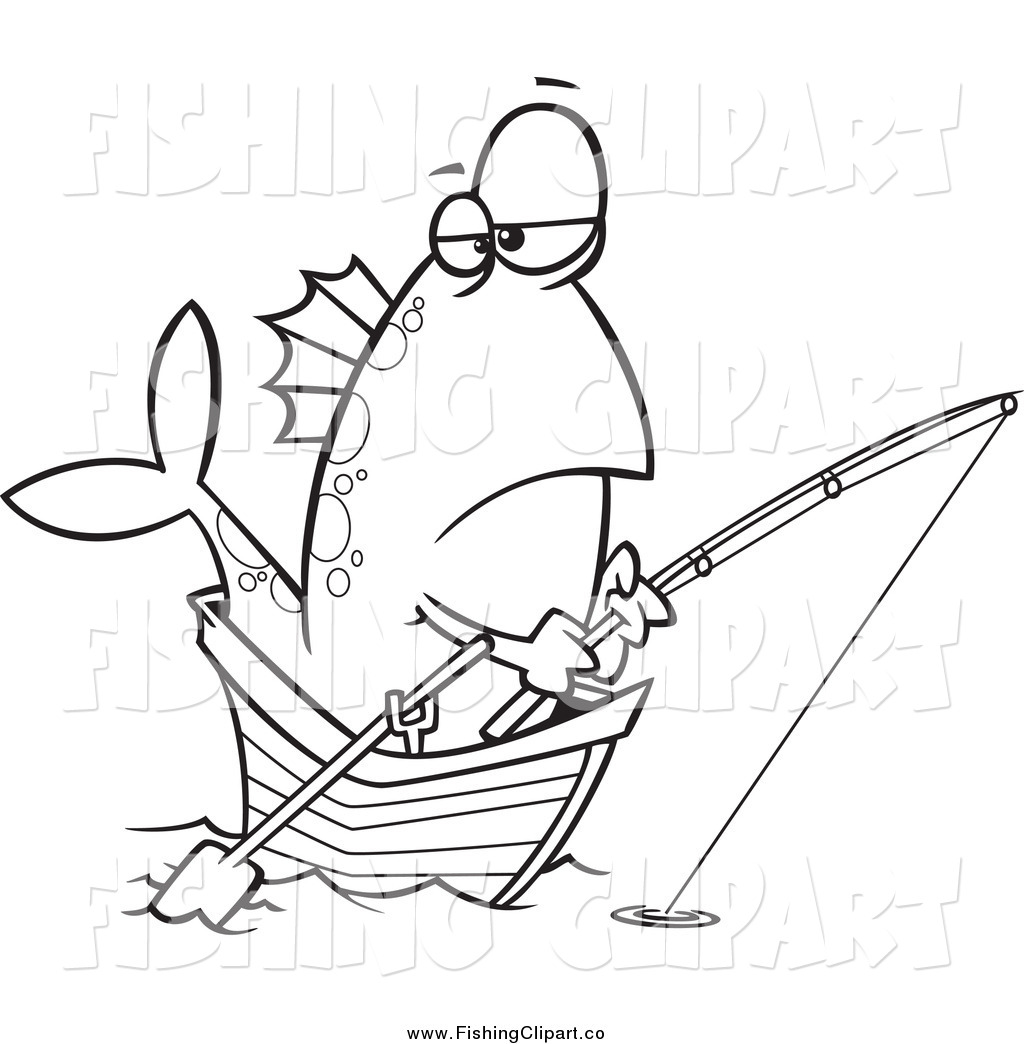 Royalty Free Stock Fishing Designs Of Cartoons Page 3