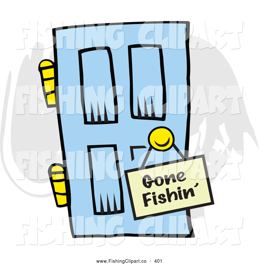 royalty free gone fishin stock fishing designs rh fishingclipart co Clip Art Fishing Sign gone fishing clip art free