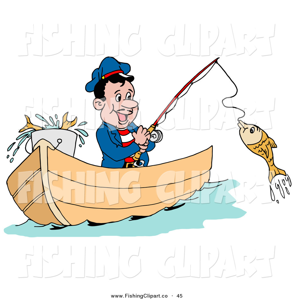 Royalty Free Fisherman Stock Fishing Designs
