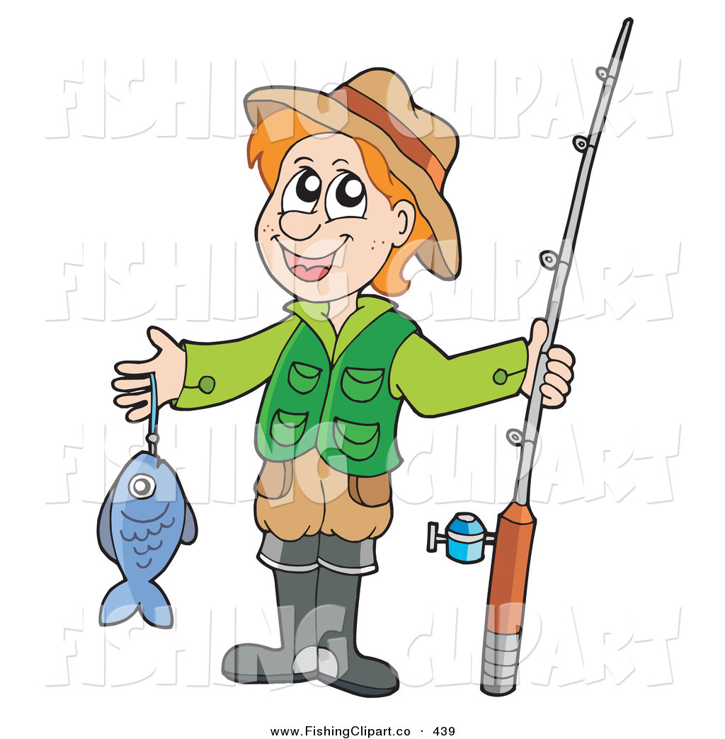 Royalty Free Cartoon Stock Fishing Designs - Page 4