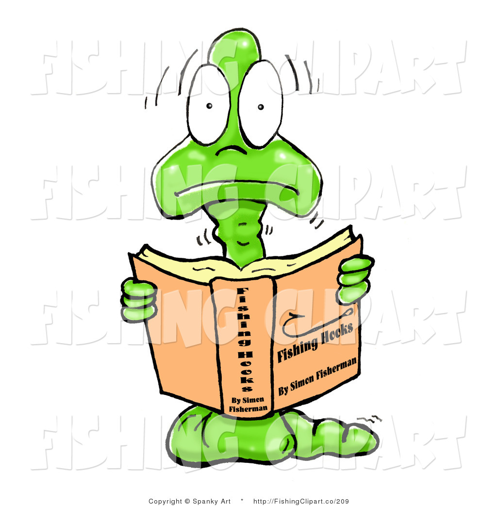 Reading Bookworm Clipart Bookworm Reading a Book