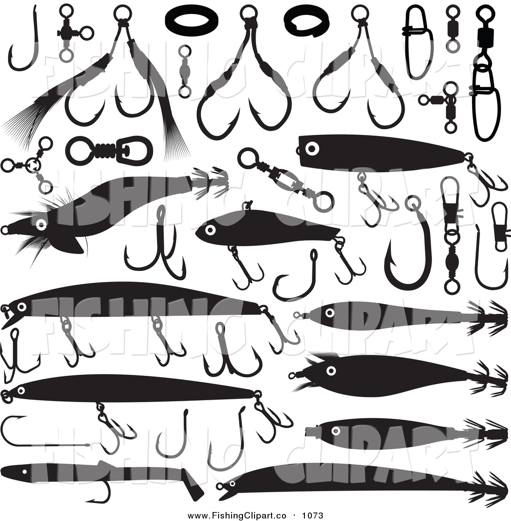 Fishing Lures Clipart