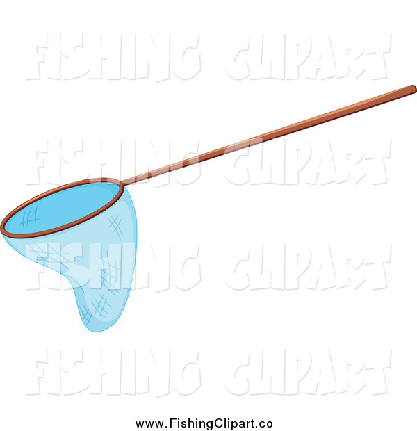 Fishing Net With Fish Clip Art